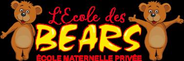 Logo de l'école des BEARS. École maternelle privée